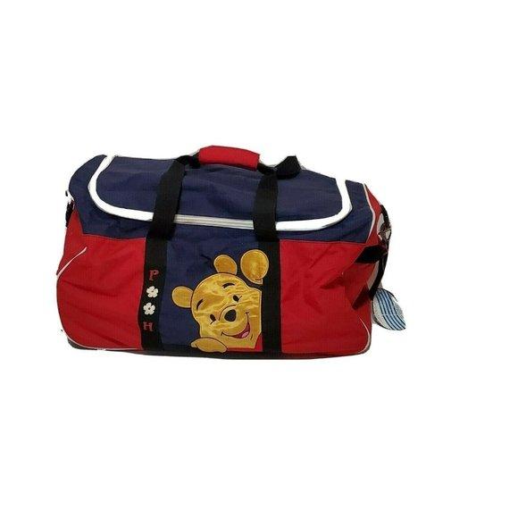 POOH Disney Cruise Line Duffle Bag Rolling Wheels